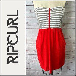 Rip Curl Cha Cha Mini Pocket Dress Size Large
